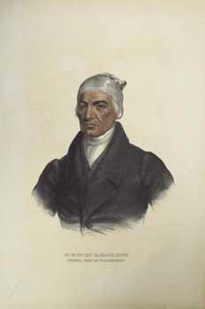 CA-TA-HE-CAS-SA-BLACK HOOF / PRINCIPAL CHIEF OF THE: McKenney, Thomas L.