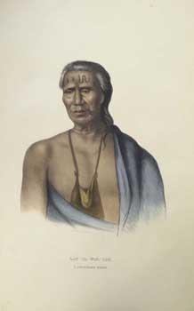 LAP-PA-WIN-SOE. / A DELAWARE CHIEF. from History: McKenney, Thomas L.