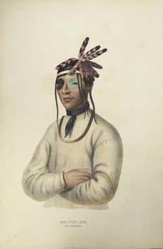 CAA-TOU-SEE / AN OJIBWAY from History of: McKenney, Thomas L.