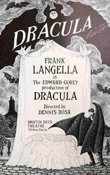 DRACULA . First edition.: Gorey, Edward (artist)