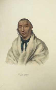 LITTLE-CROW / A SIOUX CHIEF / from: McKenney, Thomas L.