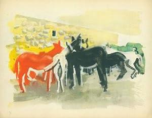 Horses.: 20th Century European Artist.