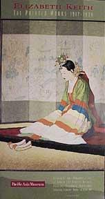 Elizabeth Keith: The Printer Works. Exhibition poster depicting her Korean Bride. October 25, 199...