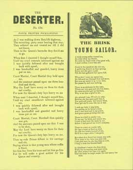 The Deserter No. 134. The Brisk Young Sailor.