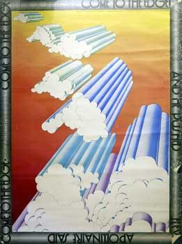 Apollinaire Said. Come to the edge.: English, Michael (artist) and Christopher Logue (poet).