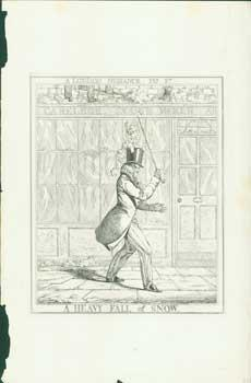 A London Nuisance, Plate 2: A Heavy Fall Of Snow.: Dighton, Richard.