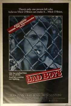 Original Movie poster for Bad Boys.: Penn, Sean