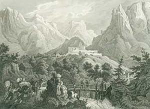 Festo Vano Presso Grigno Tyrol (Suganer Thal).: Meyer, Joseph; C. Reiss (illustr.); B. Metzeroth (...