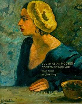 South Asian Modern + Contemporary Art. London. June 10, 2015. Sale # AMRITA-10247. Lot #s 1-76.: ...