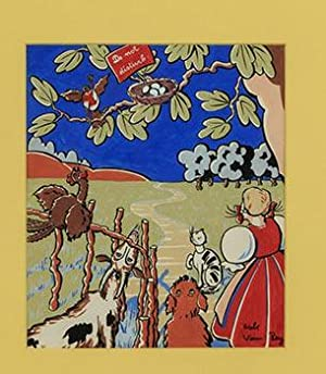 """Bo-Peep with her animals and a """"Do Not Disturb"""" sign on a bird's next: Hauenstein, ..."""