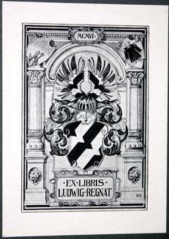 Ex Libris Ludwig Regnat.: Rheude, Lorenz M.