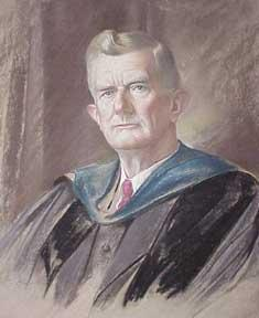 Portrait of Dr. Rockwell D. Hunt, Dean of USC.