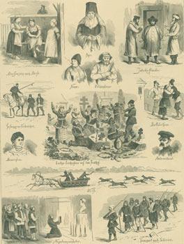 Skizzen Aus Dem Russischen Volksleben II.(Sketches From The Russian Folk Life, II).: Wanjura, ...