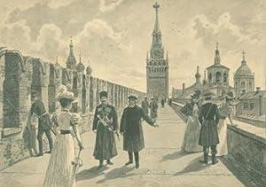 Auf Der Kremlmauer in Moskau (On The: Limmer, E. (after).