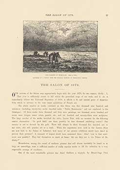 The Salon of 1879: The Fishers Of: Vernier, Emile-Louis; Thomas,