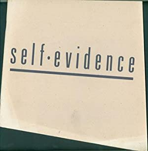 Self-Evidence. May 5 through June 11, 1989.: Los Angeles Contemporary Exhibitions; Larry Rinder (...