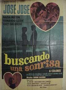 Buscando una Sonrisa. [Movie poster / Cartel de la película].: Jose, Jose.