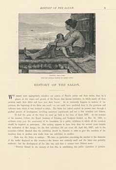 History of the Salon: Waiting; Florentine Singer;: Albert Anker; Paul