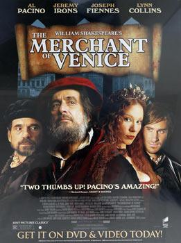William Shakespeare's The Merchant of Venice.