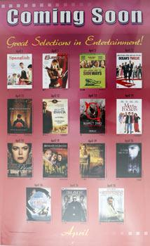 Coming Soon: Great Selections in Entertainment!