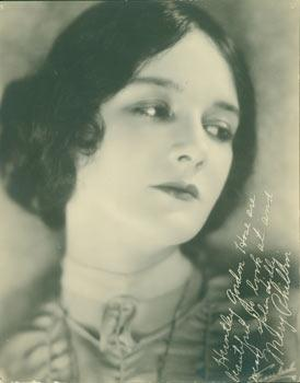 Print of Autographed Publicity Photograph of Mary Philbin.: Universal (Hollywood, CA); Mary Philbin.