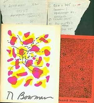 Richard Bowman, Paintings and Reflections 1943-1961.: Richard Bowman.