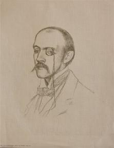 Henri de Regnier.: Van Rysselberghe, Theo.