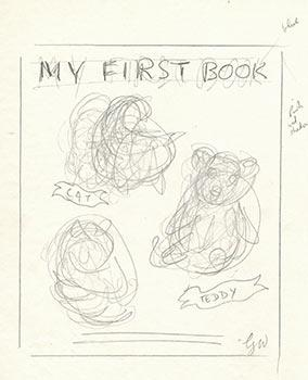 """Trial Design for Cover of """"Baby's First Book"""" (My First Book) VI. Signed.: Williams, ..."""