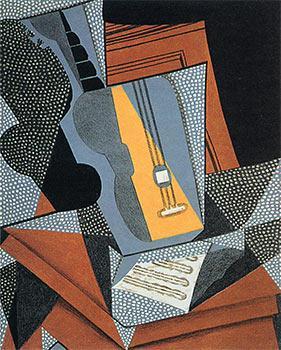 Guitare. From au Soleil du Plafond. First: Gris, Juan.