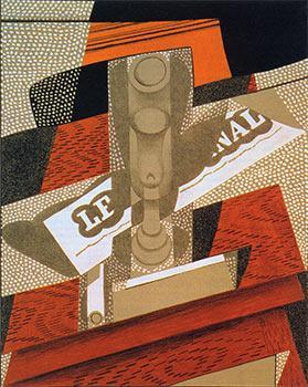 La Pipe. From au Soleil du Plafond.: Gris, Juan.