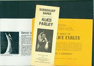 Surrealist Dance. April 22, 1977, McCormick Auditorium, Northwestern University.: Alice Farley; ...