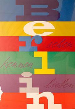 Berlin: Sehen Kennen Lieben. [Berlin: See to Know]. by Richard Blank ...