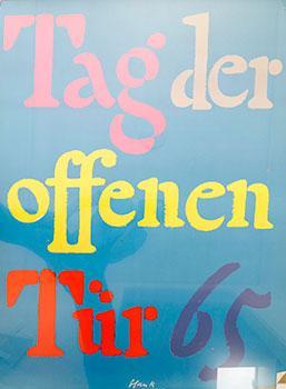 Tag Der Offenen Tur 65. [Open Door Days, 65]. by Richard Blank ...