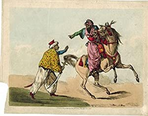Arab Horseman and a Standing Arab with: Alken, Henry (1785