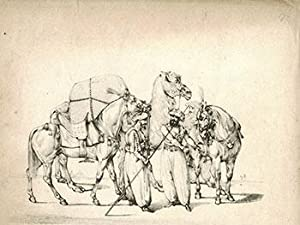 Arabs with Horses and Camels.: Alken, Henry (1785