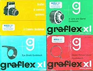 Graflex XL Camera Systems Quick Focus Lever, Eye Shield, xl Camera, and xl Lens and Barrel ...