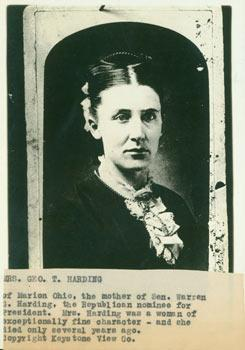 Mrs. Geo. T. Harding. (Mother of President: Keystone View Co.