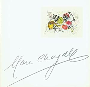 Marc Chagall. (This is the prospectus for: Kennedy Galleries (New