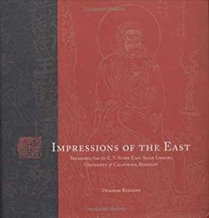 """Poster for """"Impressions of the East. Treasures from the C.V. Starr East Asian Library ..."""