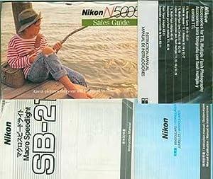Nikon instruction manuals for Macro Speedlight SB-21, Accessories for TTL Multiple Flash ...
