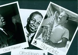 Stan Getz, Oscar Peterson & Clifford Brown: Publicity Photographs for Prestige Records.: ...