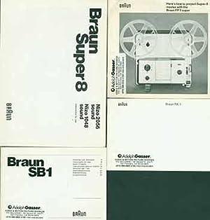 Braun instruction manuals for Nizo 2056 sound: Braun (Germany).