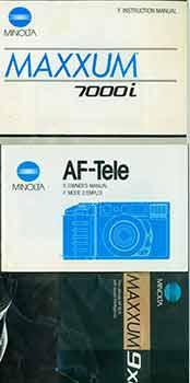 Minolta Instruction manuals for Maxum 9xi, AF Tele, Maxxum 7000i.: Minolta Camera Co. (Tokyo)