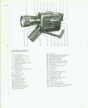 Bauer 709xl 715xl Super 8 Camera Manual: Bauer (Conneticut).