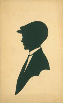 Souvenir Silhouette. Post Card Woodcut.: Ed. H. L. Swanberg.
