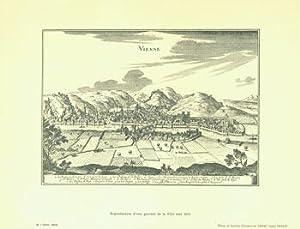 Vienne. Reproduction D'une Gravure De La Ville vers 1655.: Syndicat d'Initiative de Vienne;...