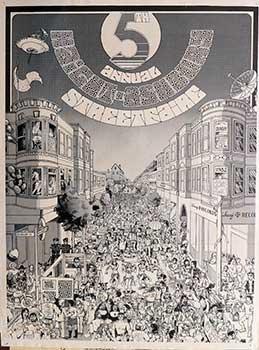 5th Annual Haight-Ashbury Street Fair. Poster: Flores, John