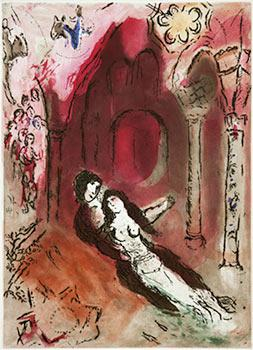 Paroles Peintes I. With 14 original etchings: Chagall, Marc, Georges