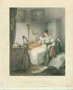 A Girl at Her Studies: Lo, Here: E.F.H.] (after); Haghe,