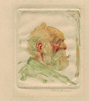 Portrait of an Old Man.: Wall, Bernhardt (1872-1956)